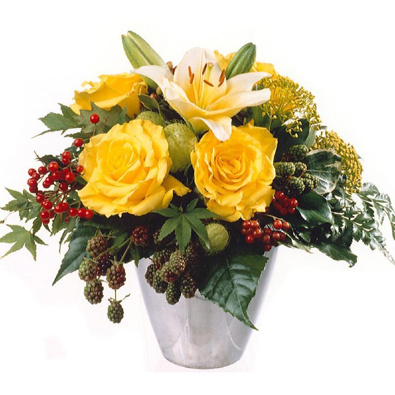Bouquet de fleurs Golden Indian Summer