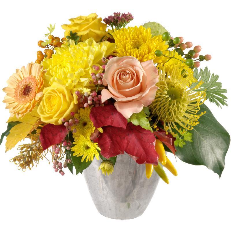 Bouquet de fleurs Let the Sunshine in
