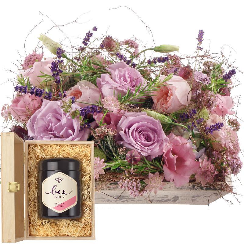 Bouquet de fleurs Fragrant Poetry with Swiss blossom honey