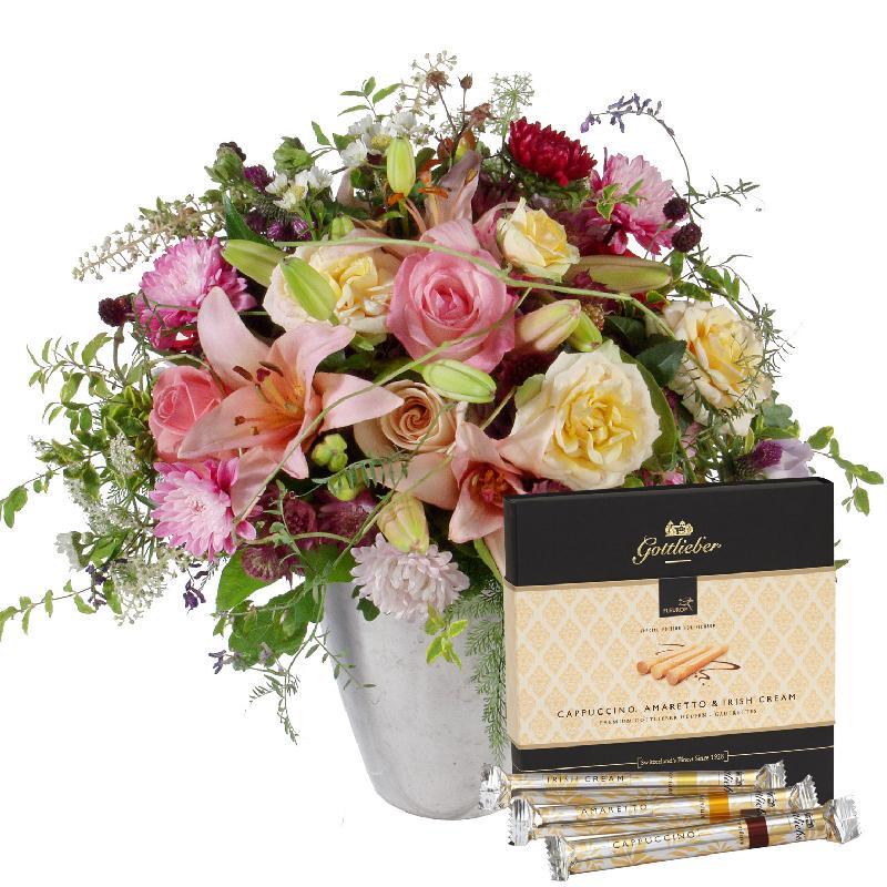"Bouquet de fleurs Poetry in Pastel Shades with Gottlieber Hüppen ""Special Edit"