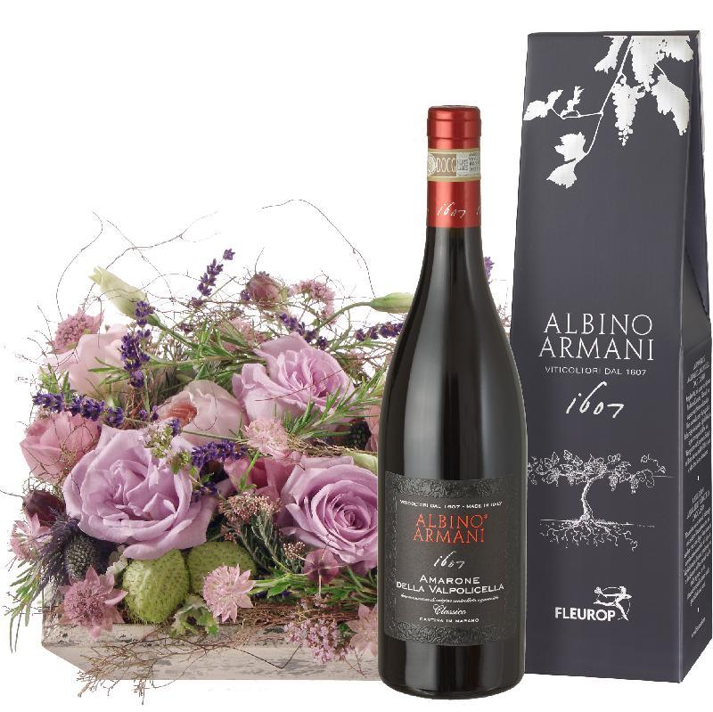 Bouquet de fleurs Fragrant Poetry with Amarone Albino Armani DOCG (75cl)