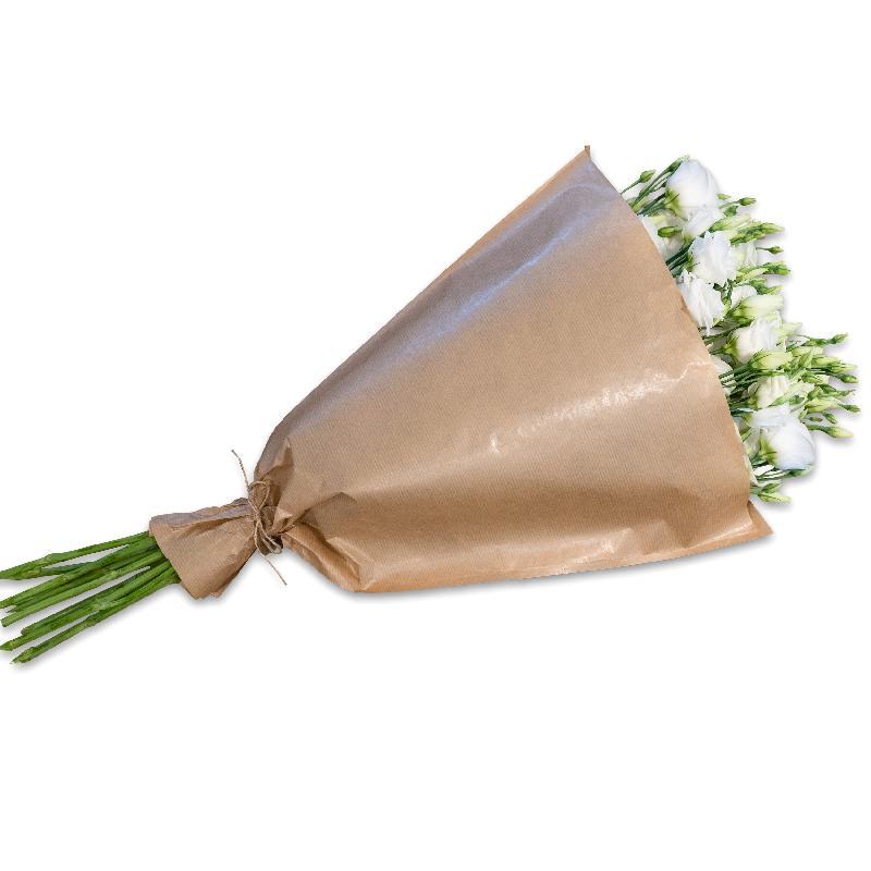 Bouquet de fleurs Bundle of white Lisianthus