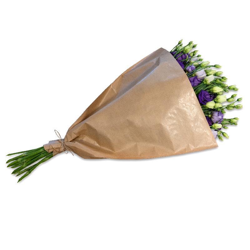 Bouquet de fleurs Bundle of violet Lisianthus