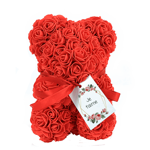 null Ourson en roses