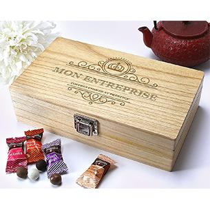 Fleurs et cadeaux Coffret de chocolats Monbana Cadeaux d'affaires