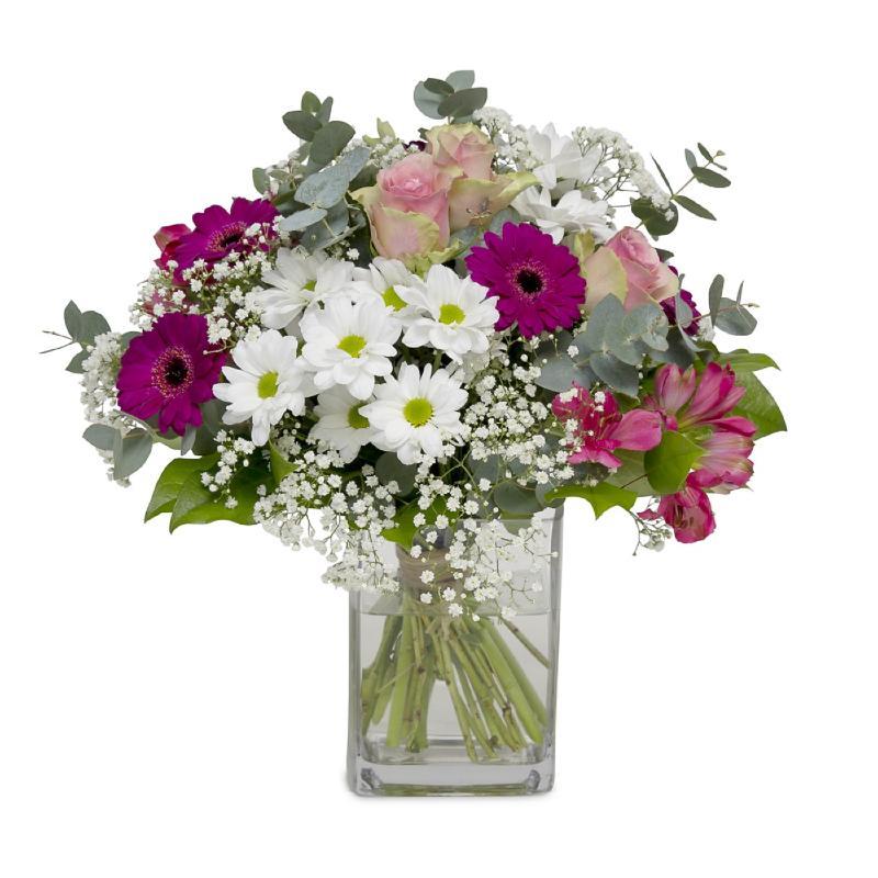 Bouquet de fleurs Happy & Pleased