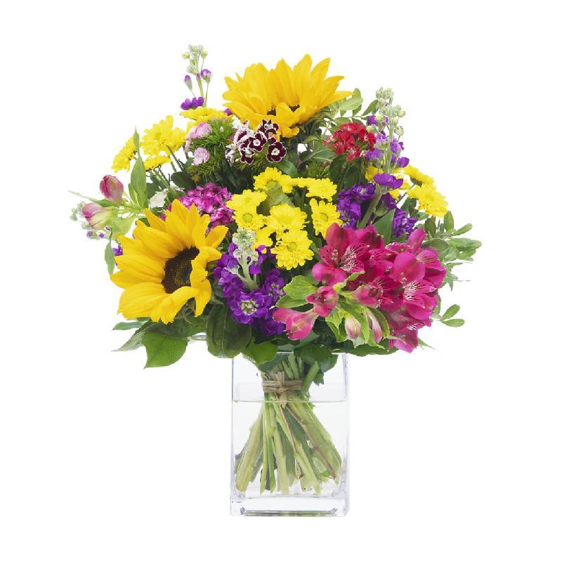 Bouquet de fleurs Sunny Greetings