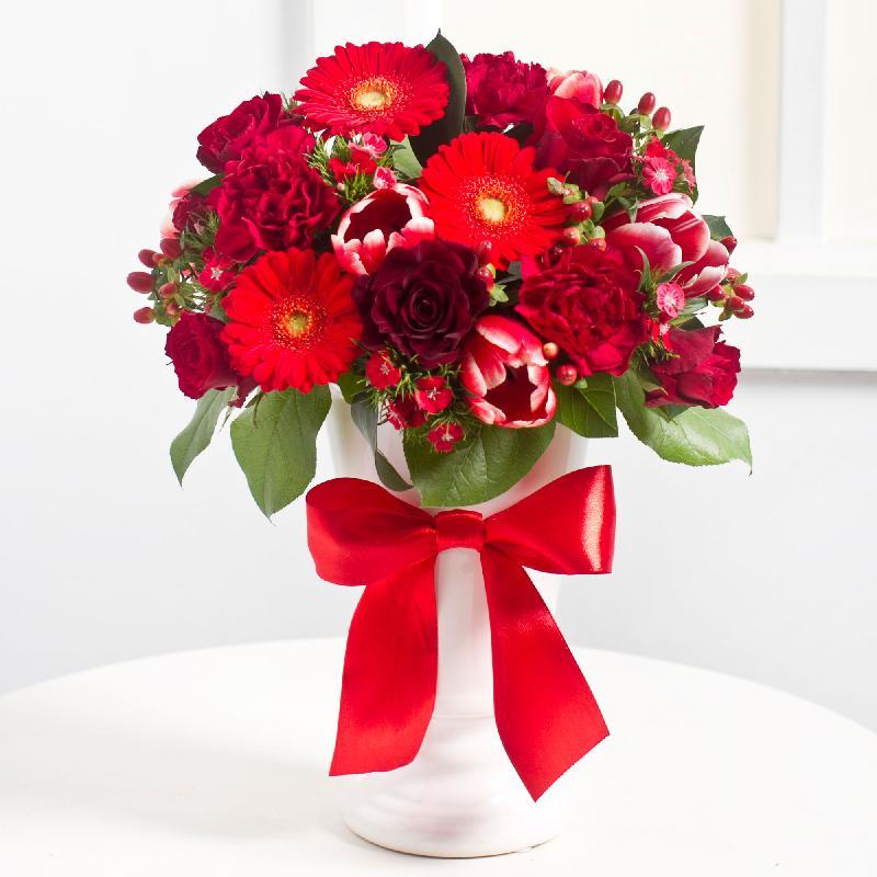 Bouquet de fleurs Elegant Bouquet in Red colours