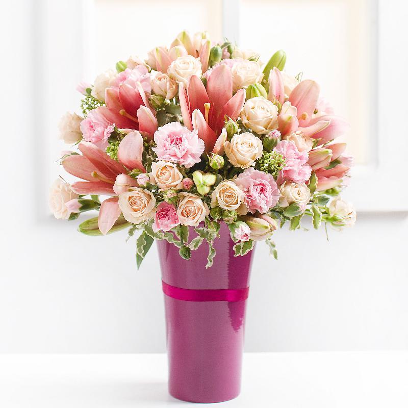 Bouquet de fleurs Pink Admiration