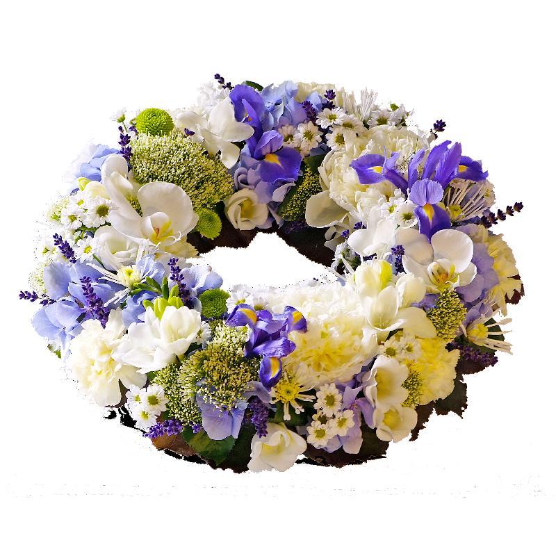Bouquet de fleurs Funeral wreath