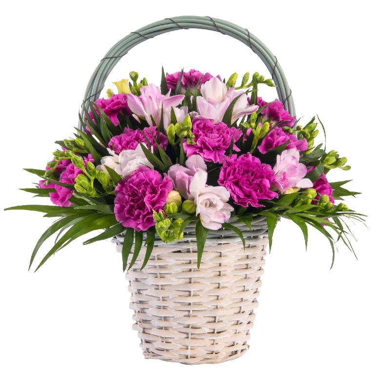 Bouquet de fleurs A basket full of love