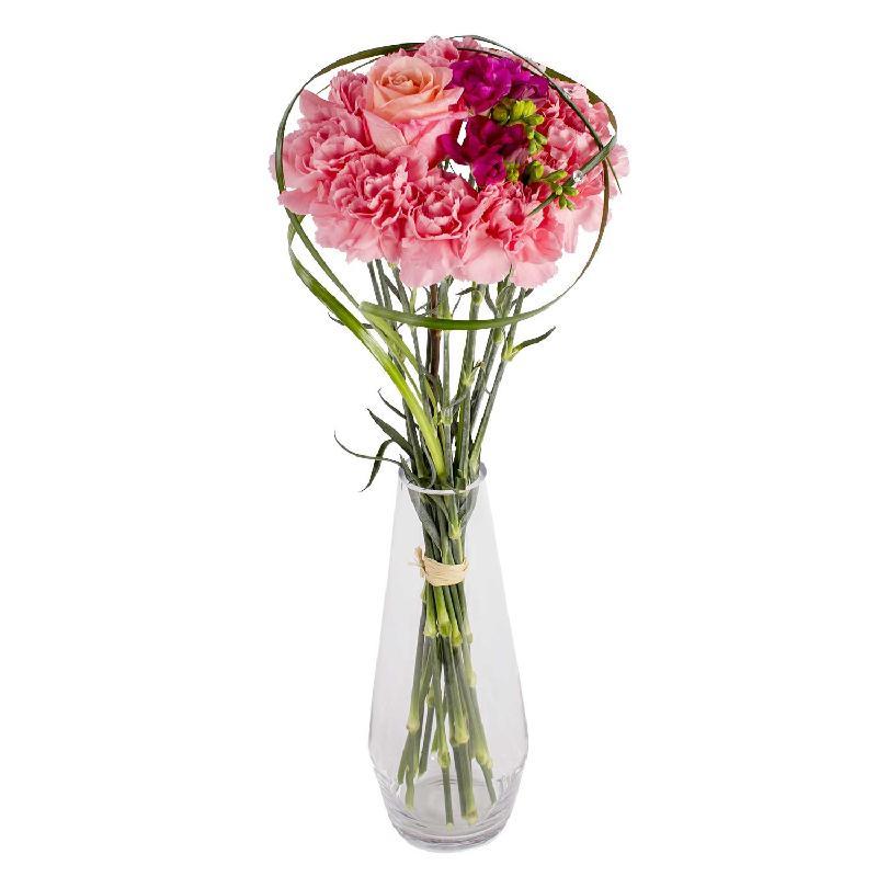 Bouquet de fleurs Cotton candy