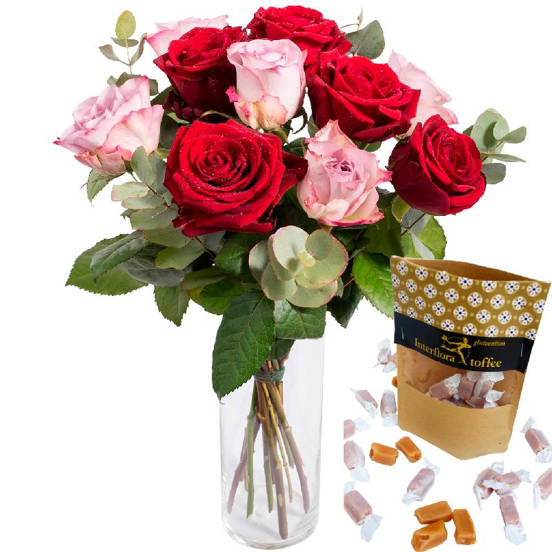 Bouquet de fleurs From me to you + Toffee