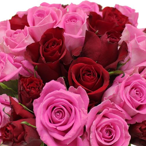 Bouquet de roses Flor'à la folie - 30 roses
