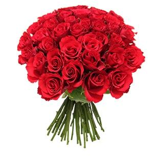 Bouquet de roses rouges +10 roses offertes - interflora