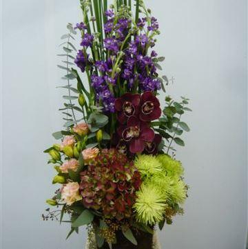 Arrangement of Cut Flowers multicoloured
