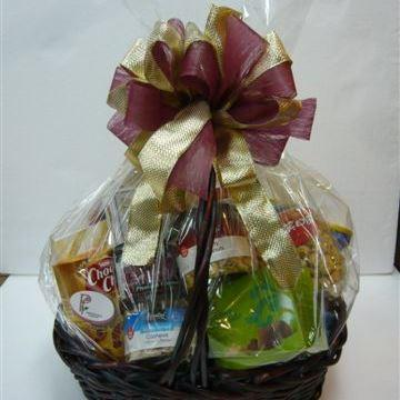 Bouquet de fleurs Gourmet Basket