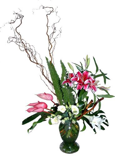 Bouquet de fleurs Arrangement of Mixed Flowers