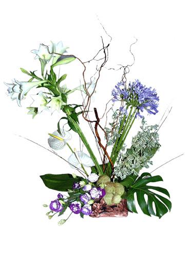Bouquet de fleurs Arrangement of Mixed Cut Flowers