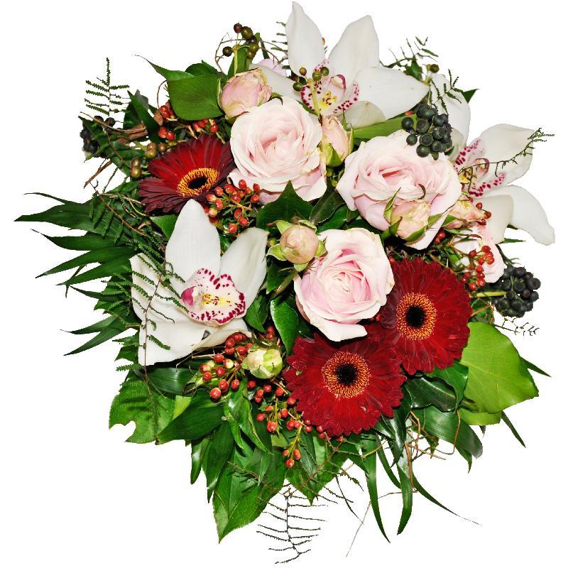 Bouquet de fleurs Fire & Ice