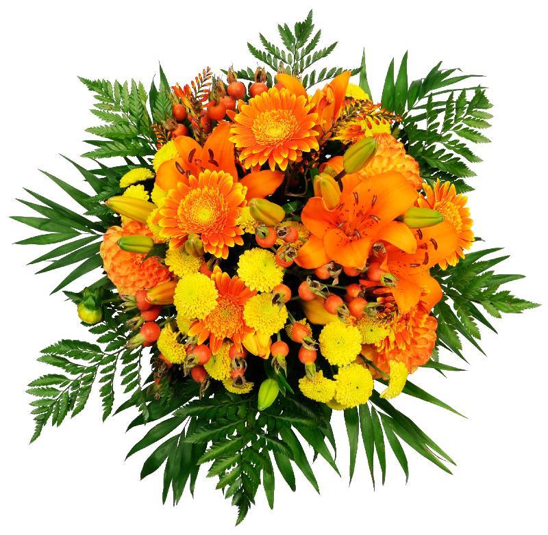 Bouquet de fleurs Ornella