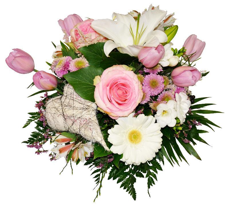 Bouquet de fleurs Alicia
