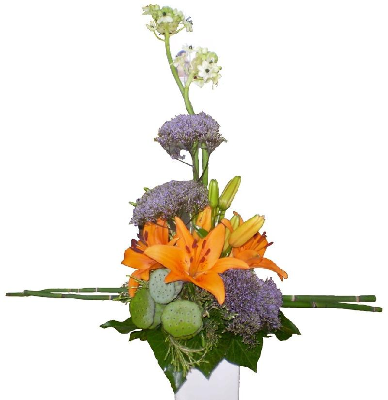 Bouquet de fleurs Arrangement of Cut Flowers