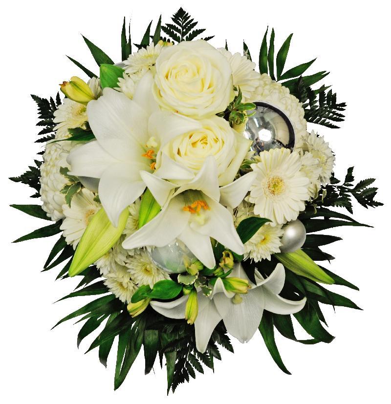 Bouquet de fleurs Snowflake
