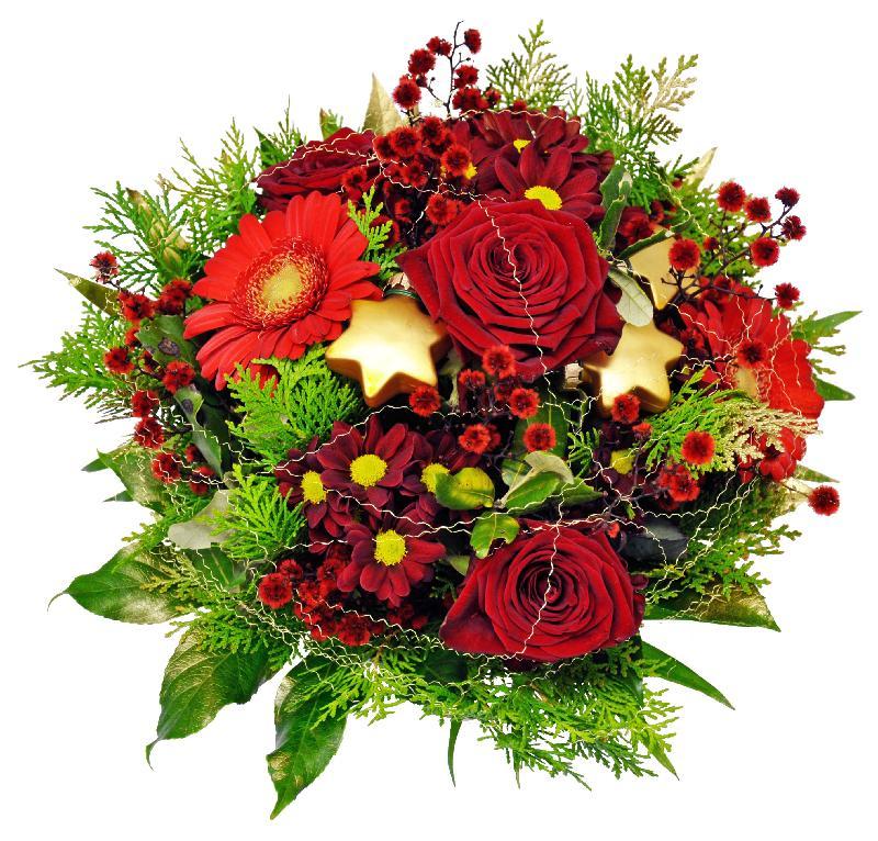 Bouquet de fleurs Christmas Joy