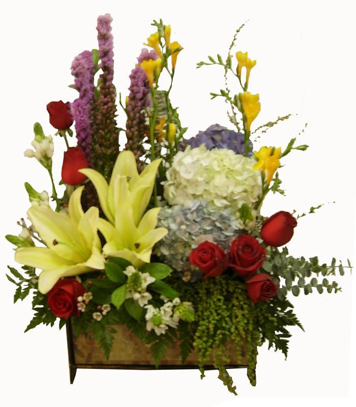 Bouquet de fleurs Romantic Garden