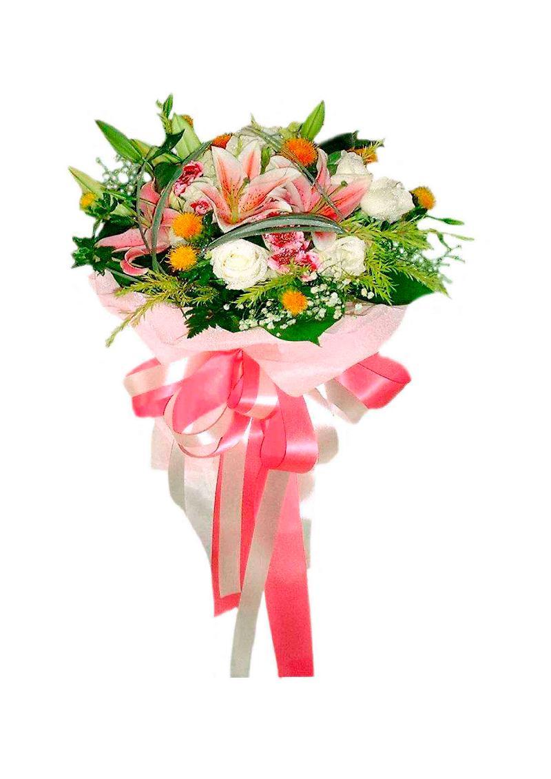 Bouquet de fleurs SMILE