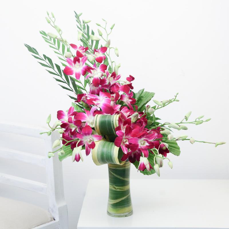 Bouquet de fleurs Purple Love