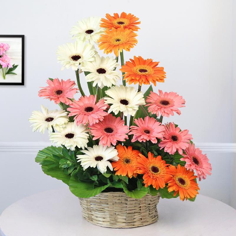 Bouquet de fleurs Gleaming Gerberas