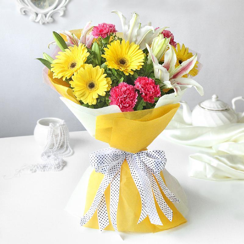 Bouquet de fleurs Vibrant Beauty