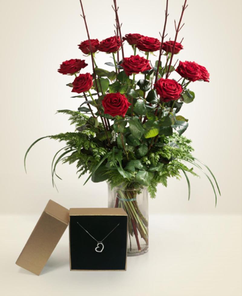 Bouquet de fleurs Dichiarazione d'Amore
