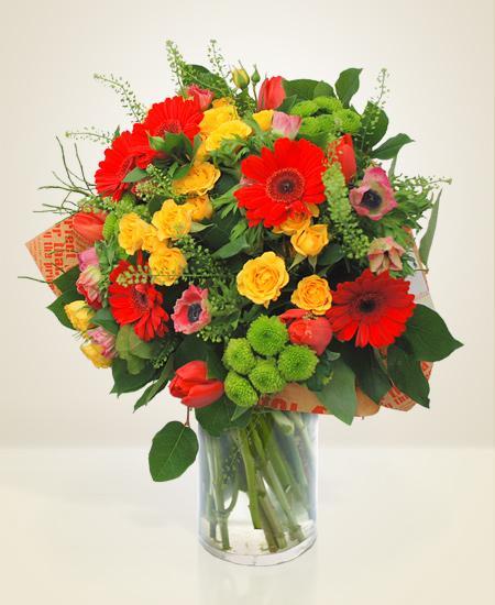 Bouquet de fleurs Energetica