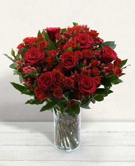 Bouquet de fleurs Amore