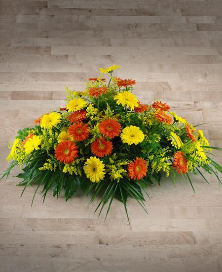 Bouquet de fleurs Cuscino di gerbere