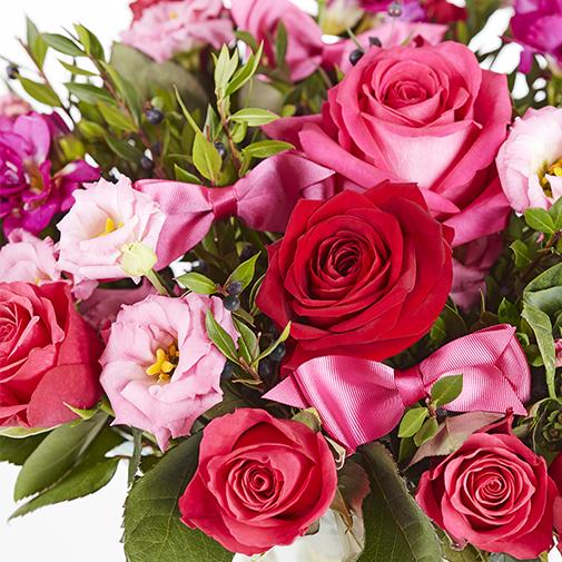 Bouquet de fleurs Coquette