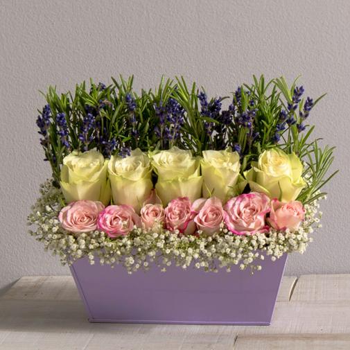 Bouquet de fleurs Bagatelle