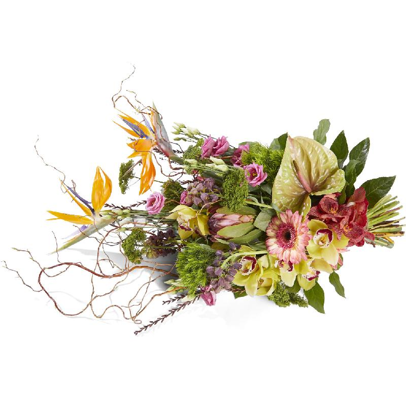 Bouquet de fleurs Funeral: Hidden present; Funeral Bouquet