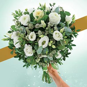 Bouquet de fleurs Douceur de décembre