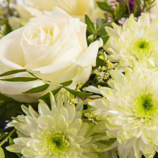 Bouquet de fleurs Courchevel