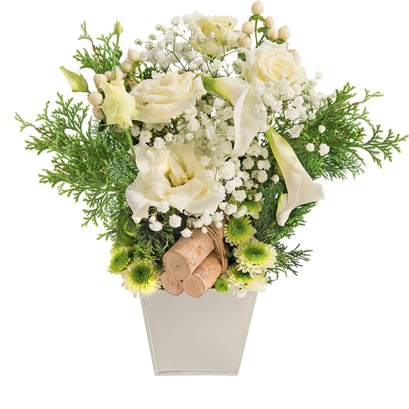 M ribel collection fleurs hiver rapidit remise en Composition florale exterieur hiver