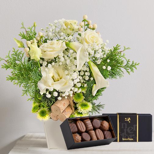 Fleurs et cadeaux Méribel et son écrin de chocolats