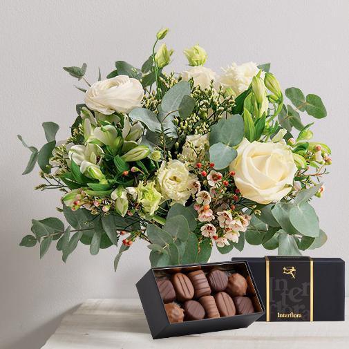 Fleurs et cadeaux Megève et son écrin de chocolat