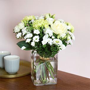 Bouquet de fleurs Pureté de janvier Collection Hommes