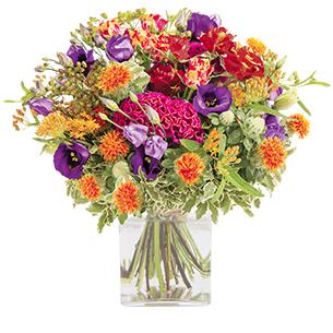 Bouquet de fleurs Cuivre Remerciements