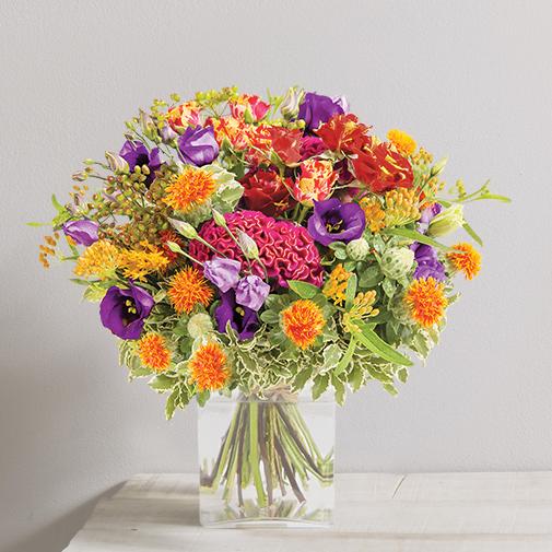 Bouquet de fleurs Cuivre