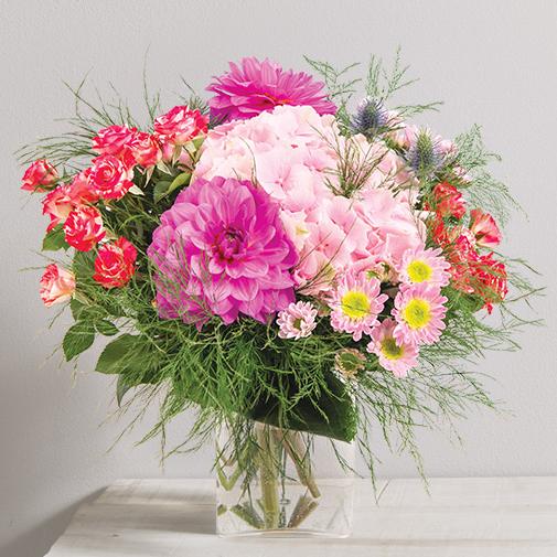 Bouquet de fleurs Fuchsia